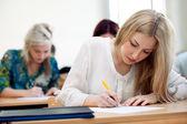 Estudiante muy femenina — Foto de Stock