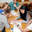 Studying together — Stock Photo #30403457