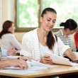 Students studying together — Stock Photo #30404029