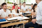 Klasa podczas wykładu — Zdjęcie stockowe