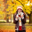 Cold autumn — Stock Photo