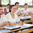 Students in classroom — Stockfoto