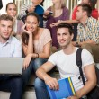 Stock Photo: Group of student