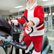 Santa Claus training — Stock Photo #31882841