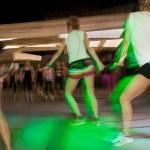 Fitness dance class aerobics — Stock Photo #31882983