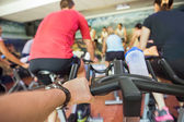 Spinning class — Stock Photo