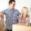 Stock Photo: Beginning of living together