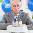100th birthday — Stock Photo