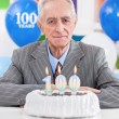 Stock Photo: 100th birthday