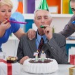 Party for 70th birthday — Stock Photo #35598447