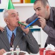 Father and so on birthday — Stock Photo