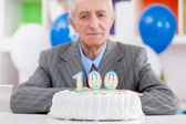 Hundredth birthday — Stock Photo