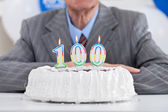 One hundred birthday — Stock Photo