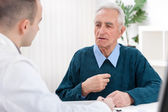 Doctor and an Elderly Patient — Stock Photo