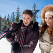 Ski vacation — Stockfoto