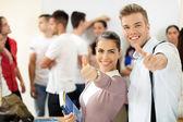 Success students — Stock Photo