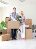 Pár pohyblivých domov — Stock fotografie