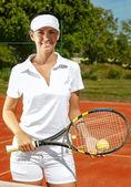 Tennis players — Stock Photo