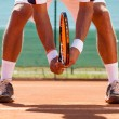 Legs of tennis player — Stock Photo #39654219