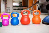 Different kettle bell — Stock Photo