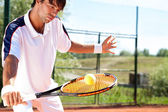 Tennis player  — Stock Photo