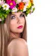 Floral nymph — Stock Photo #44165097