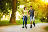 Time for rollerblades — Stock Photo