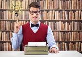 老式打字机 — 图库照片
