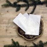 Christmas wafer — Stock Photo