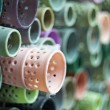 Spools of thread - Foto Stock