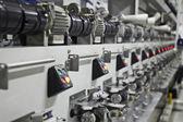 Textilní továrna — Stock fotografie