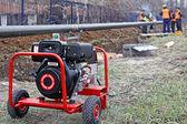 柴油发电机组 — 图库照片