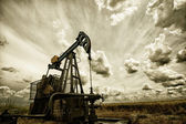 The oil pump — Stock Photo