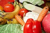 Различные овощи — Стоковое фото