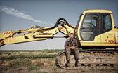 Excavator — Stok fotoğraf
