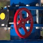 Industrial valves — Stock Photo #37489579