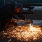 Flame cutting — Stock Photo #41438445