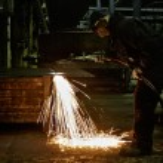Flame cutting — Stock Photo #41438473