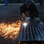 Flame cutting — Stock Photo #41438507