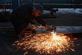 Flame cutting — Stok fotoğraf