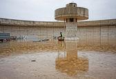 Concrete tank — Stock Photo
