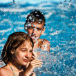 Children splash — Stock Photo