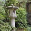 Japanese Stone Lantern in Garden Landscape — Stock Photo