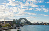 Sydney harbour bridge — Stock fotografie