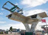 Carretera bajo reconstrucción — Foto de Stock