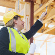 At the construction site — Stock Photo #18186809