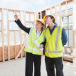 At the construction site — Stock Photo #25599533