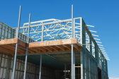 Casa de nueva construcción — Foto de Stock