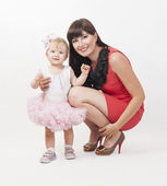 Mother with baby daughter — Stock Photo