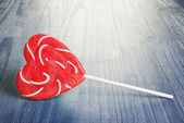 Spiral lollipop — Stock Photo